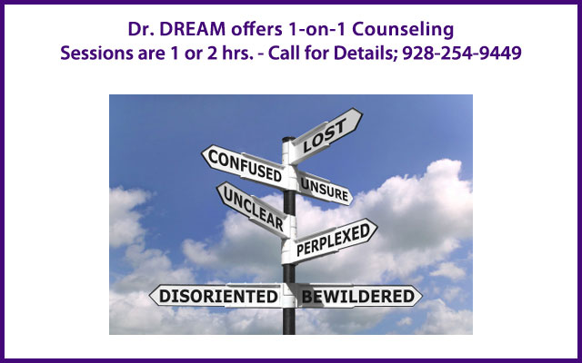 Individual Counseling with Dr. DREAM